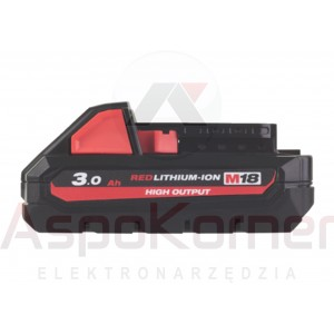 Akumulator 3,0Ah M18 HB3 Milwaukee 4932 4710 69
