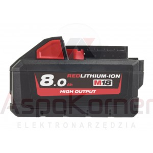 Akumulator 8,0Ah M18 HB8 Milwaukee 4932 4710 70