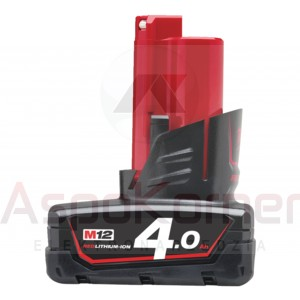 Akumulator 4,0Ah M12 B4 Milwaukee 4932 4300 65